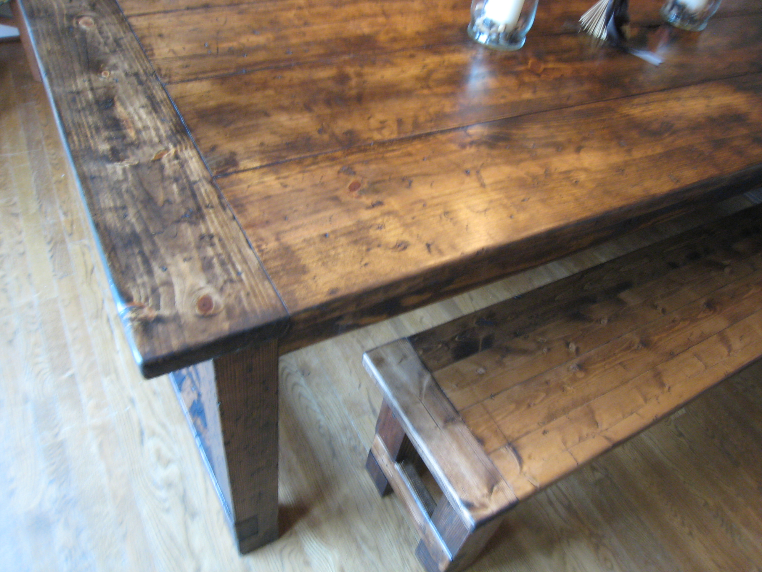 Farmhouse Table Details 171 Tommy Amp Ellie