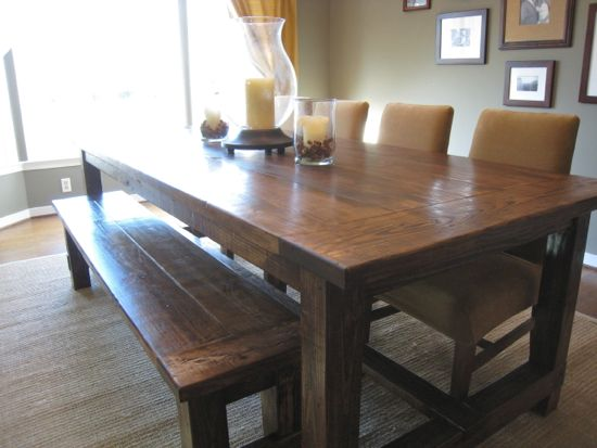 farm rustic redwood wooden wood for sale farmhouse table tables