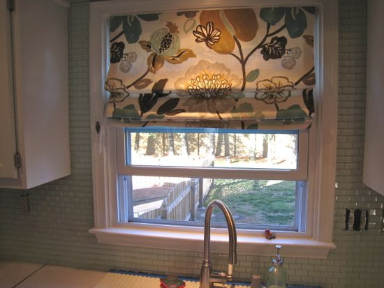 Around the window backsplash