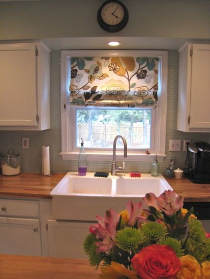 Kitchen Backsplash By Window arctic ice backsplash…finally! « tommy & ellie