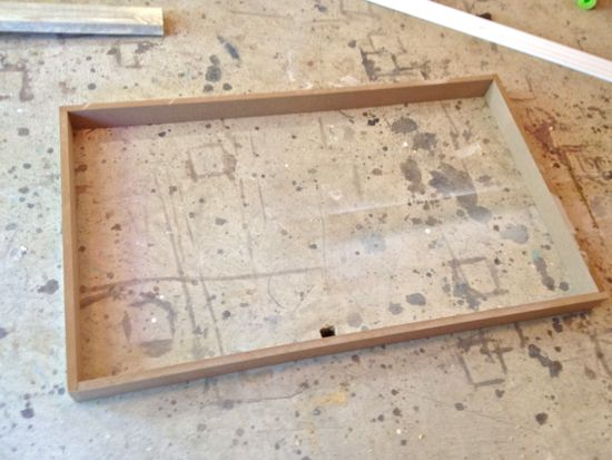 MDF Box for TV Frame