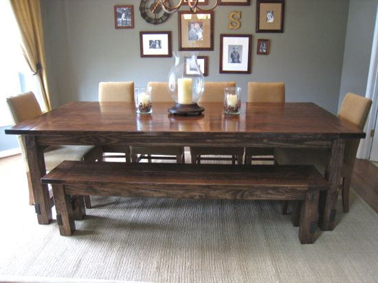 Farmhouse Table Classic Full Shot