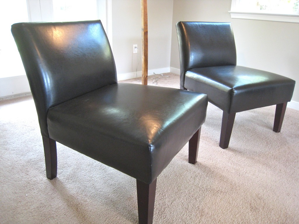 Avington Faux Leather Chairs