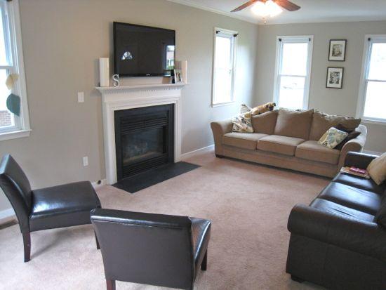 Living Room From Kitchen Corner