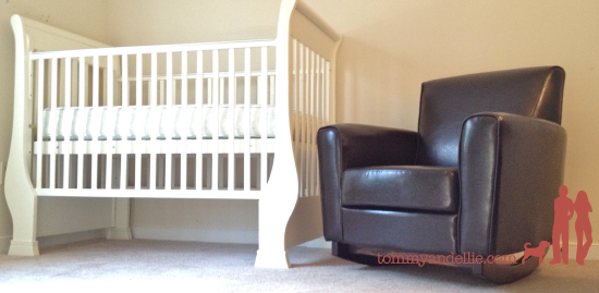Armchair Turned Baby Rocker