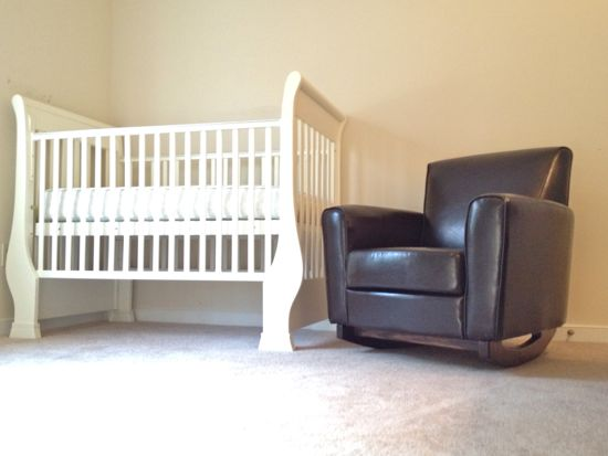 Baby Rocker with crib