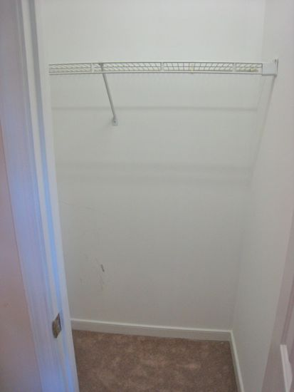 Closet Renovation. Before Shots. www.tommyandellie.com
