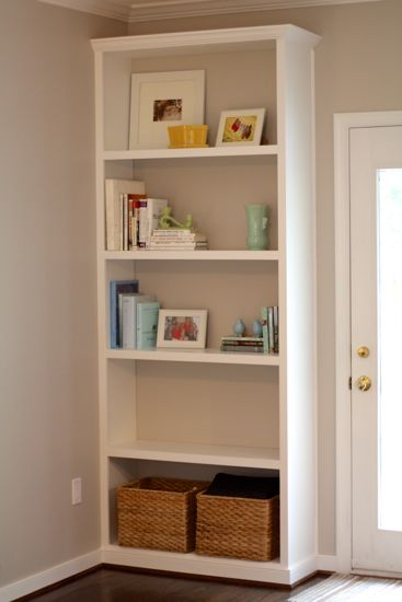 How to Build Built-In Bookcases. www.tommyandellie.com