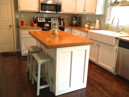 Kitchen Island Redo « Tommy & Ellie