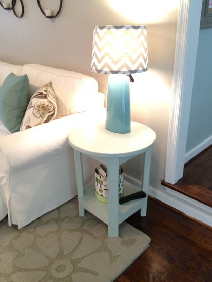 Benchwright Round Side Table. DIY @ Www.tommyandellie.com Part 89