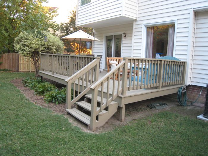 "Our Old ""New"" Deck"